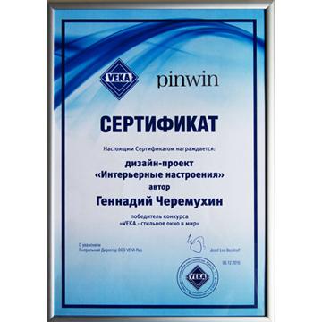 Международный конкурс PinWin «VEKA - стильное окно в мир»
